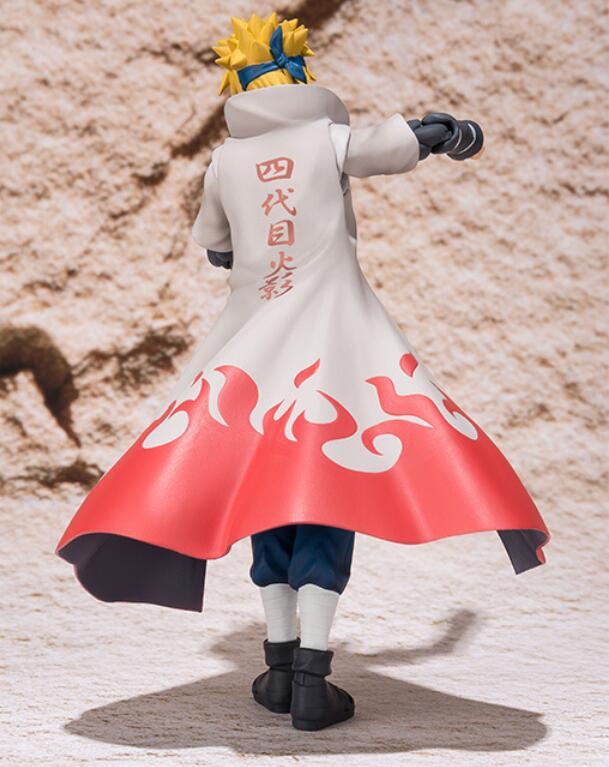 Figuarts SHF Naruto Shippuden Namikaze Minato Action Figure Boxed 15CM Neuf S.H