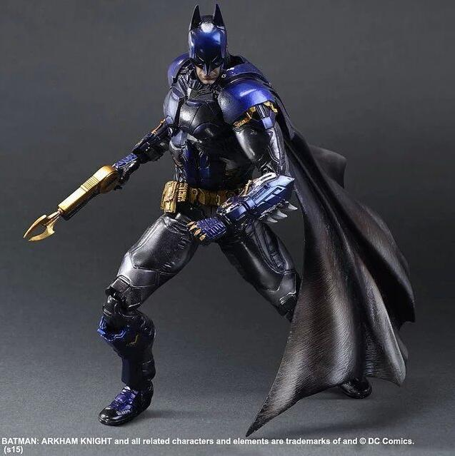 Play Arts Kai DC Comics Batman:Arkham Knight  Limit Action Figure Model Boxed