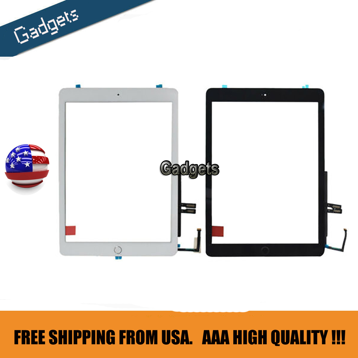LCD Touch Screen Digitizer Replacement For 2018 iPad 6th Gen A1893 A1954 USA