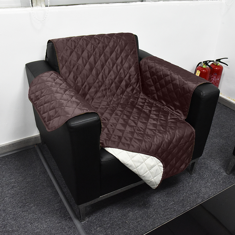couch sofa cover removable quilted couch slipcover pet protector for 1 2 seater ebay. Black Bedroom Furniture Sets. Home Design Ideas