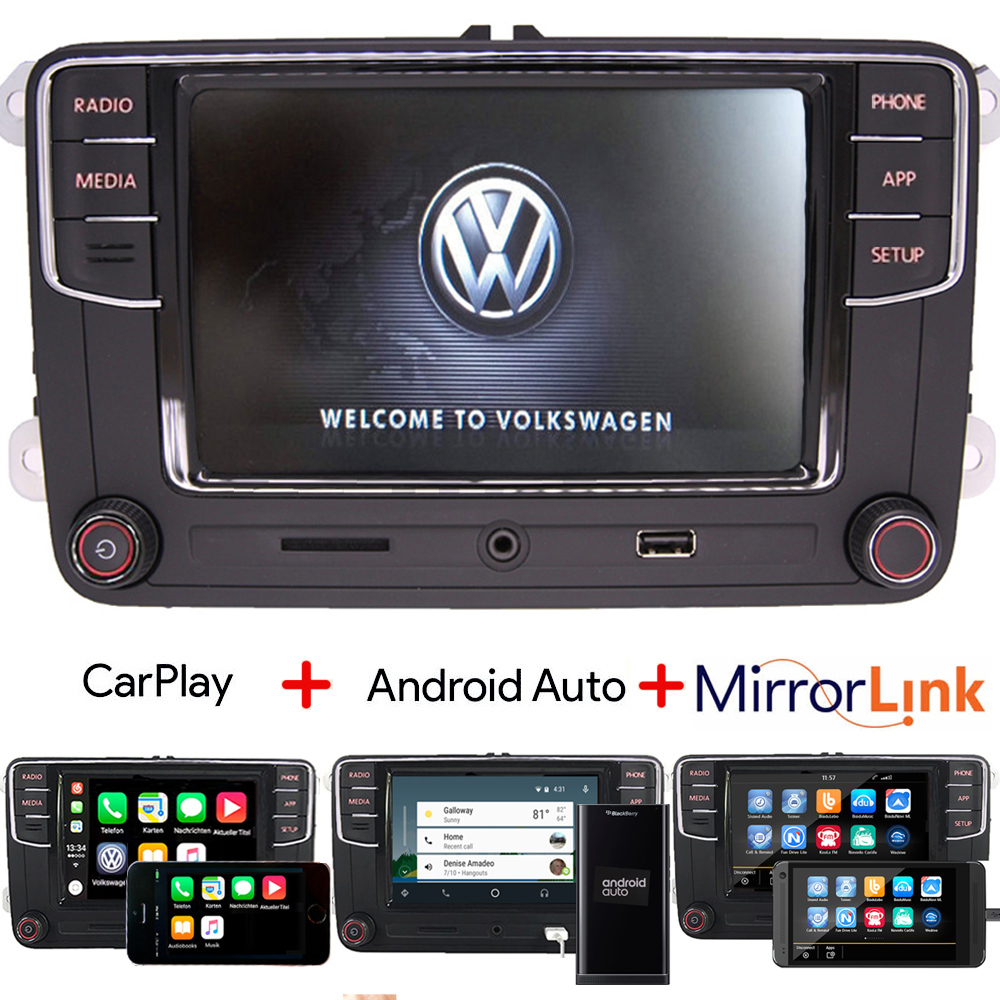 autoradio rcd330 bluetooth carplay android auto usb rvc. Black Bedroom Furniture Sets. Home Design Ideas