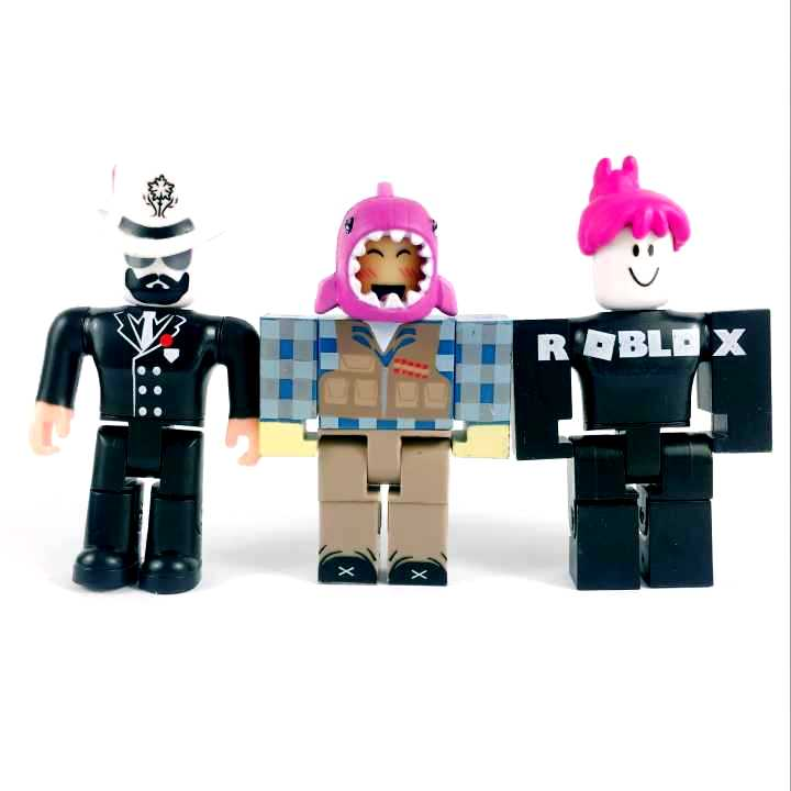 """Lot 5Pcs ROBLOX Legends Champions of Roblox Mystery Action Figure 2.5/"""" toy doll"""