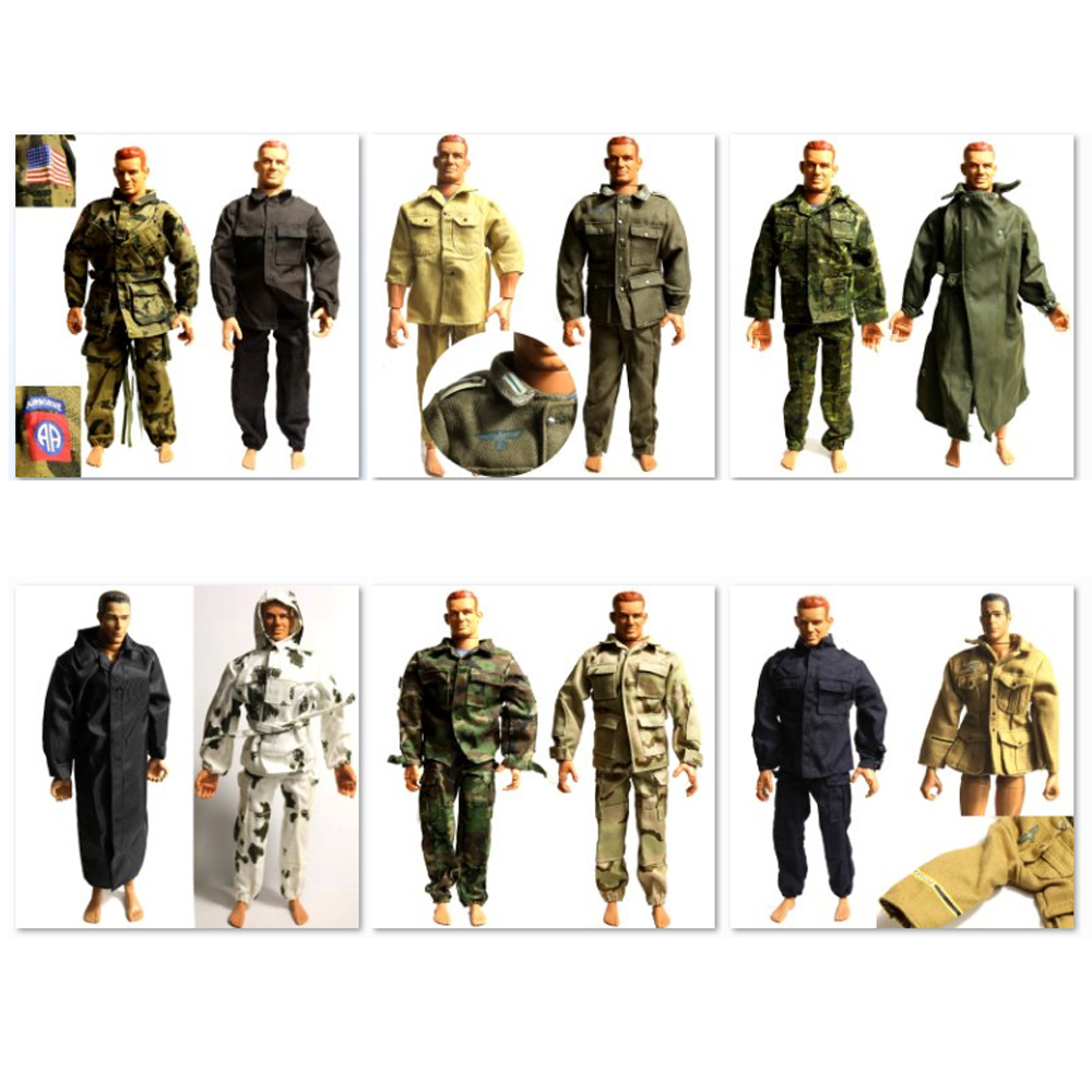 Lot 28Pcs 21st Century toy Germany WWII Soldier 1//6 Ultimate dress clothes gift