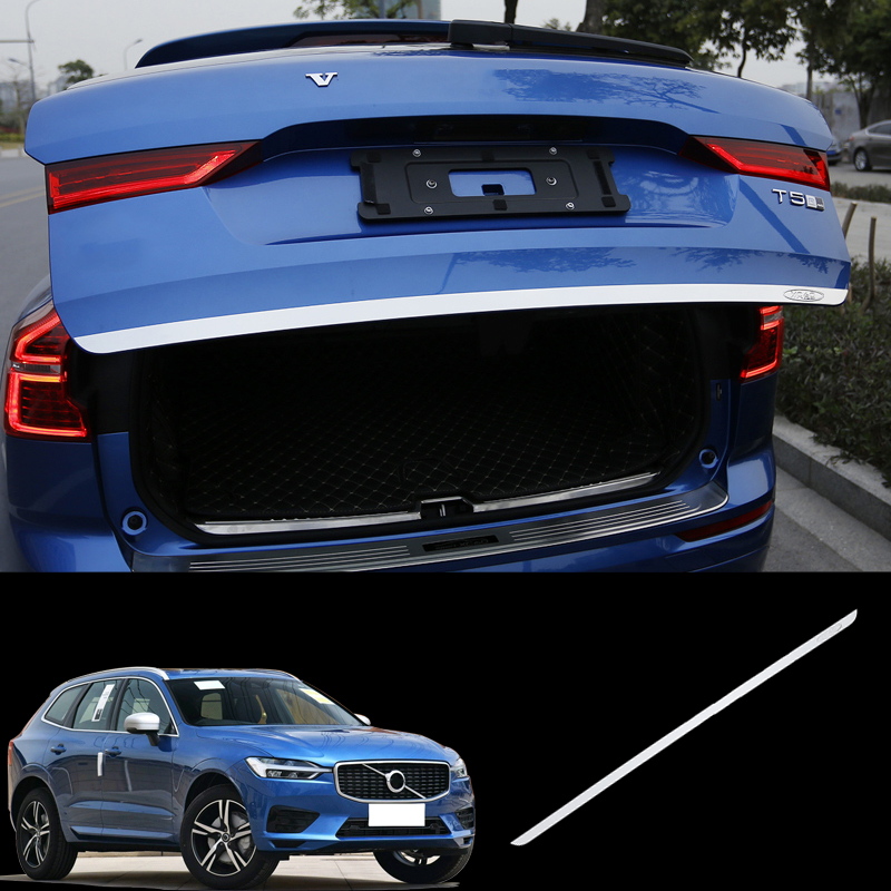 2019 Volvo Xc60: For Volvo XC60 2018-2019 Stainless Rear Trunk Tail Gate