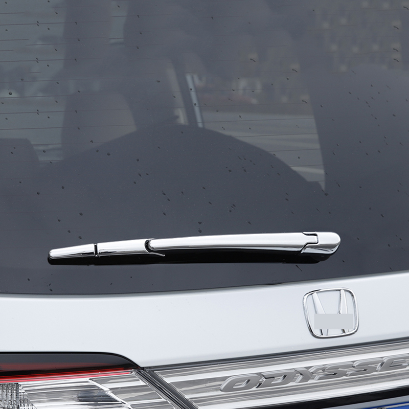 Abs Chrome Rear Window Wiper Cover Trims For Honda Odyssey 2014 2015 2016 2017