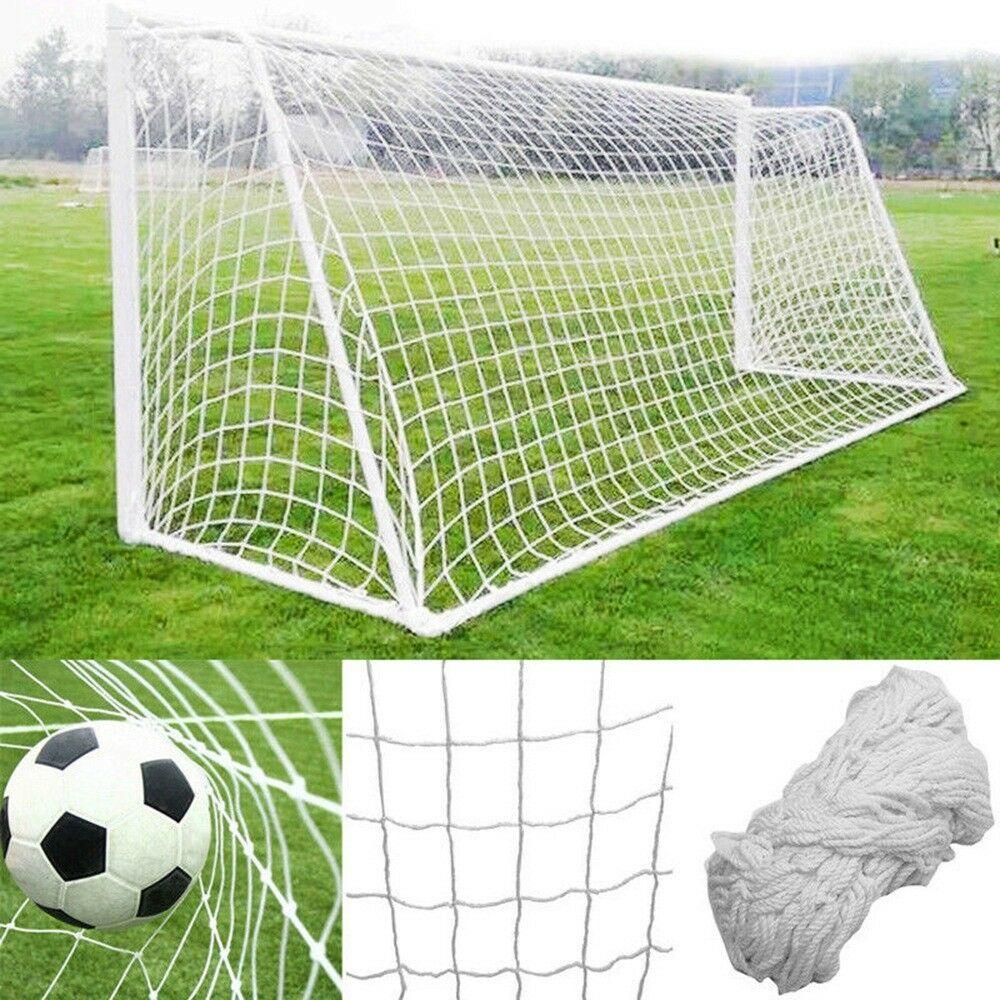 6x 4ft Football Soccer Goal Post Net For Kids Outdoor Football Match Training UK