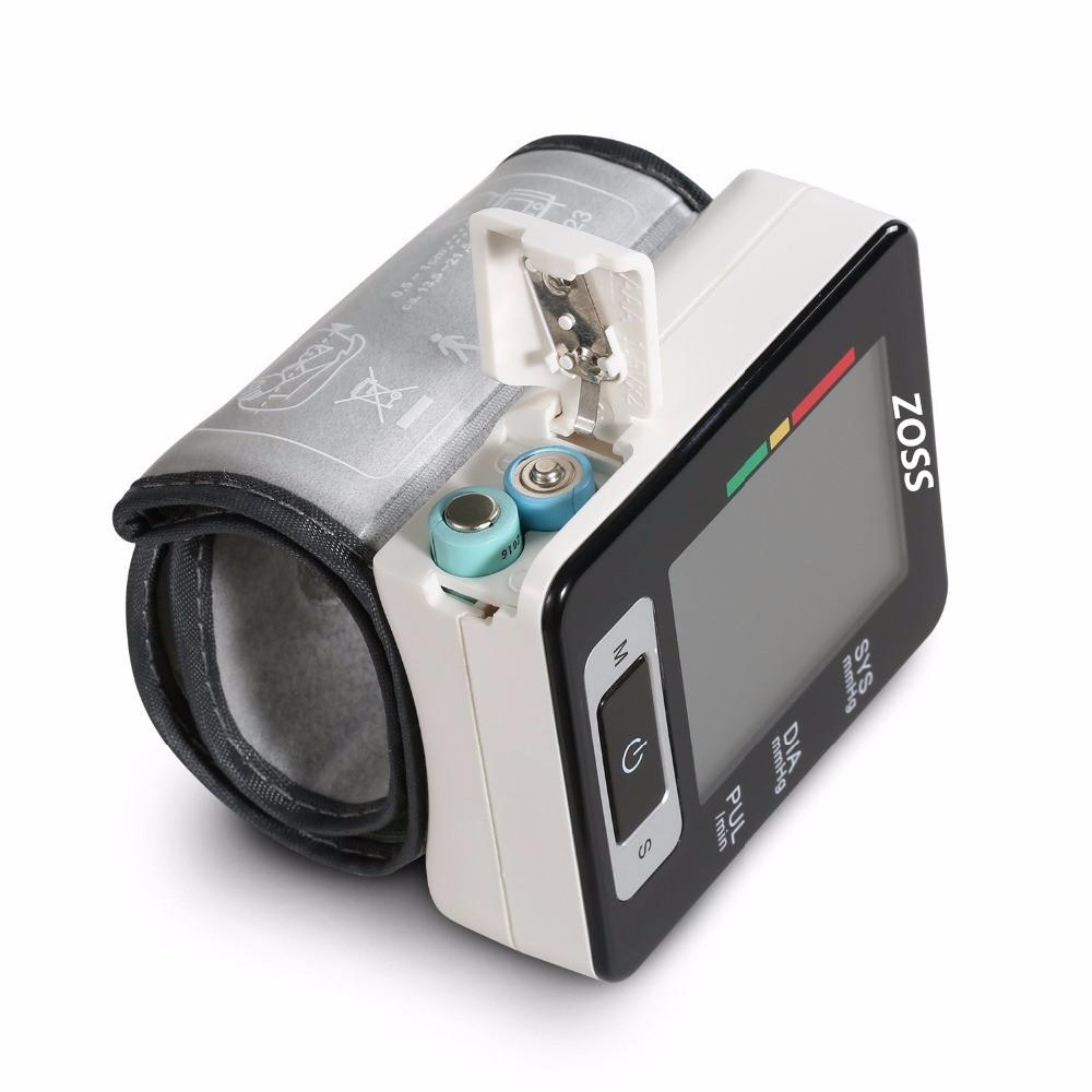 Digital Wrist Blood Pressure Monitor Heart Beat Rate Pulse ...