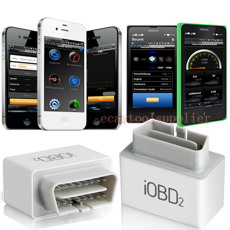 XTOOL IOBD2 Mini Bluetooth 4.0 Code Reader Auto Scanner For iPhone IOS Android
