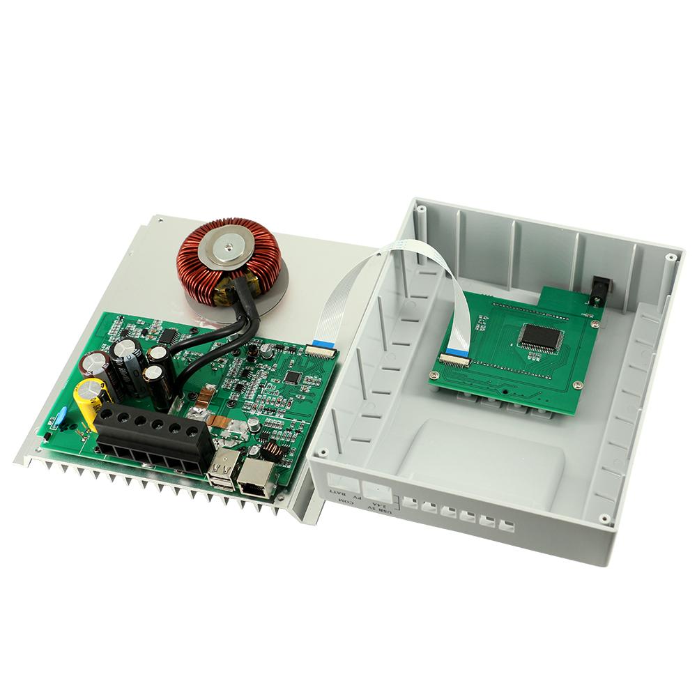 10a 20a 30a 40a Solar Charge Controller Mppt Battery Regulator 12v Circuit 24v 3 Timer