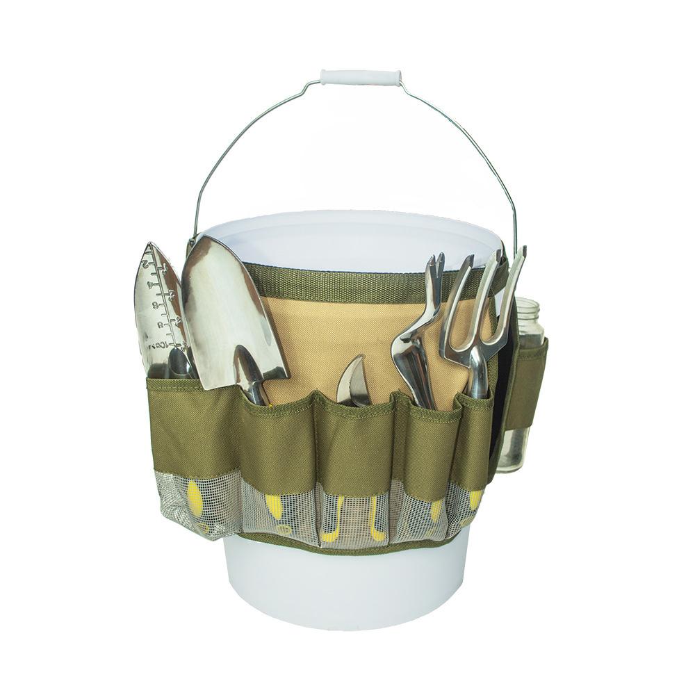 garden tool belt gardening tool bucket organizer hardware