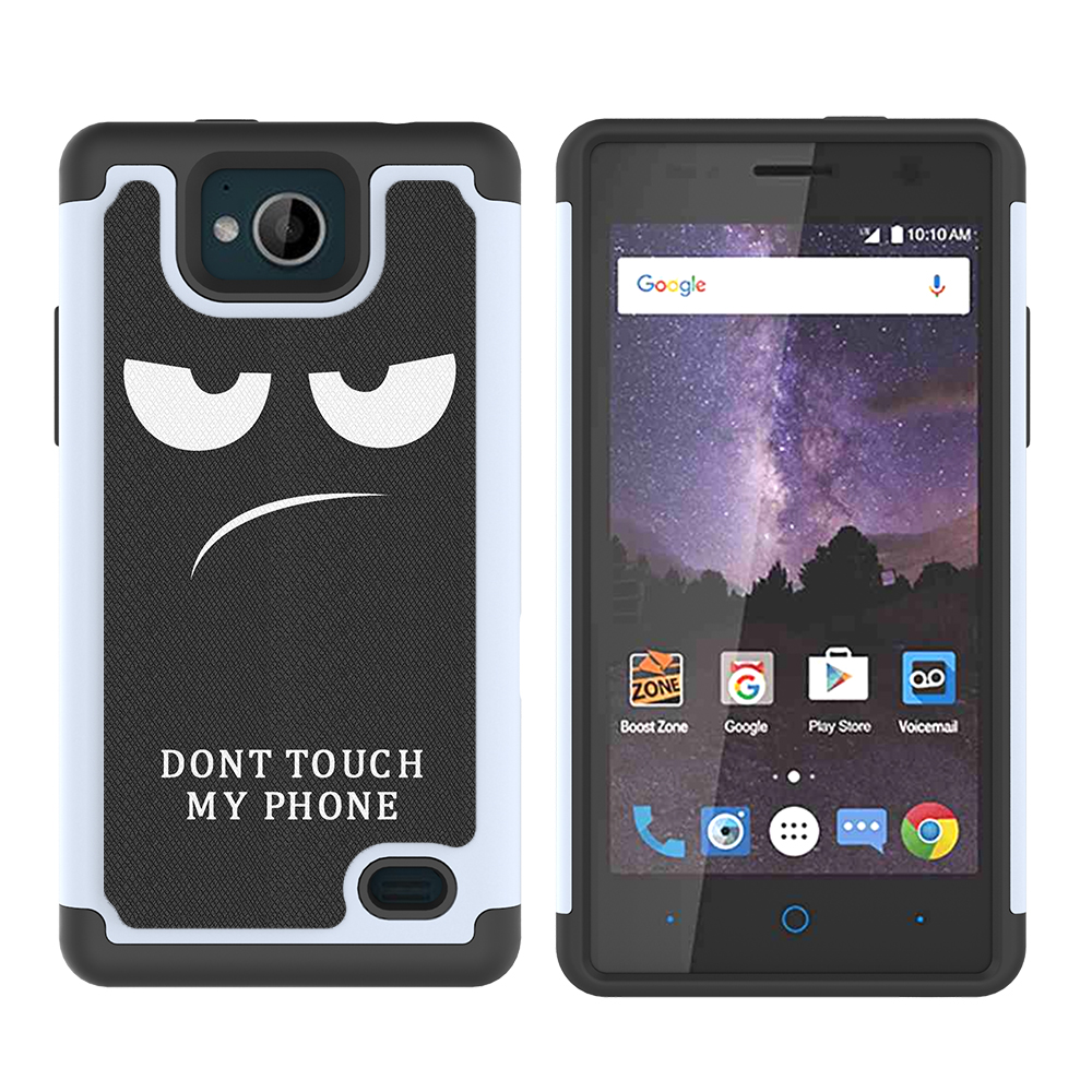 Details about For ZTE Majesty Pro Case Patterned Hybrid Hard Silicone  Shockproof Phone Cover