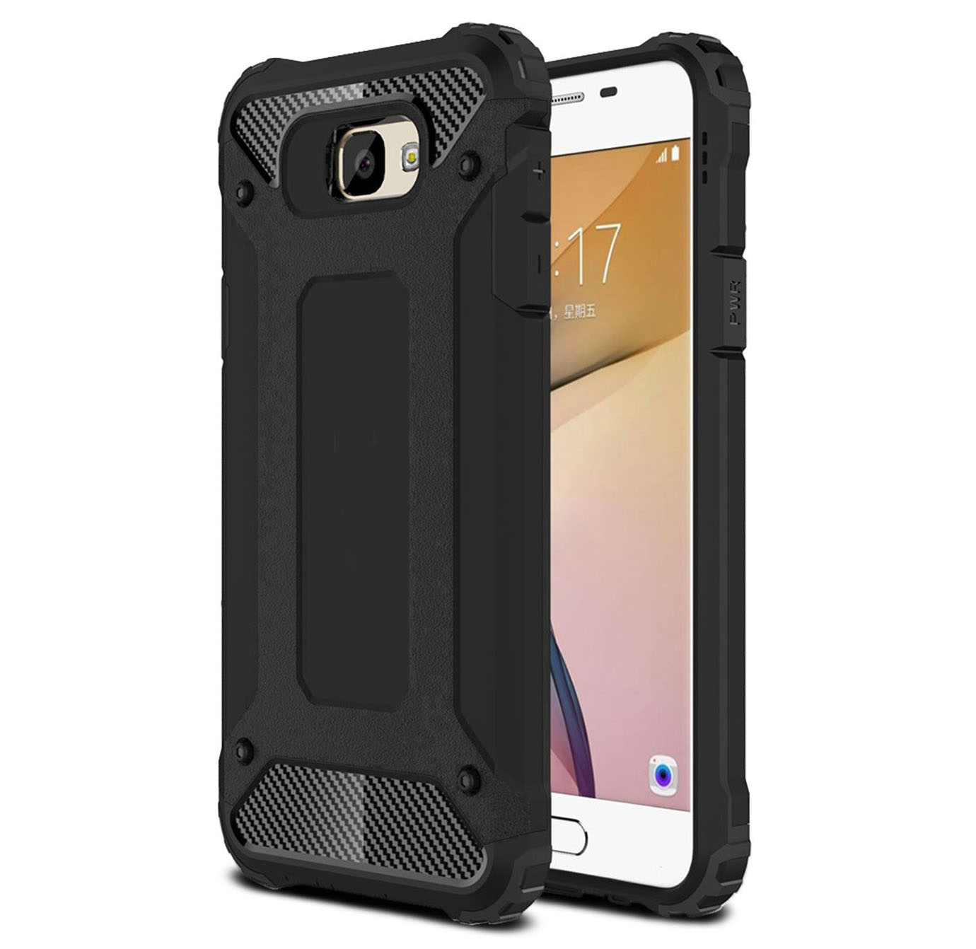 For NEW Samsung Galaxy A3 (2017) Case Rugged Armor Shockproof Protective Phone Cover