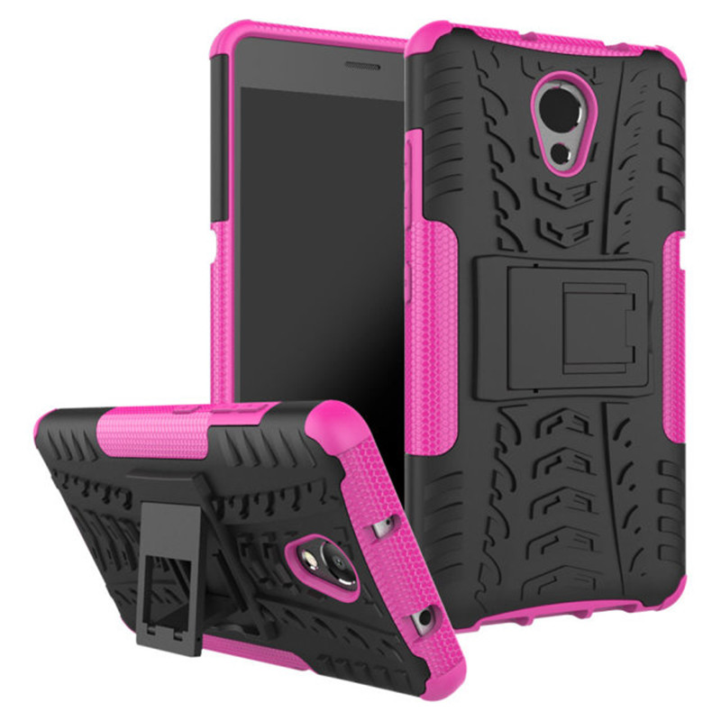 For Lenovo P2 Case Rugged Armor Hybrid Hard Stand Protective Phone Cover