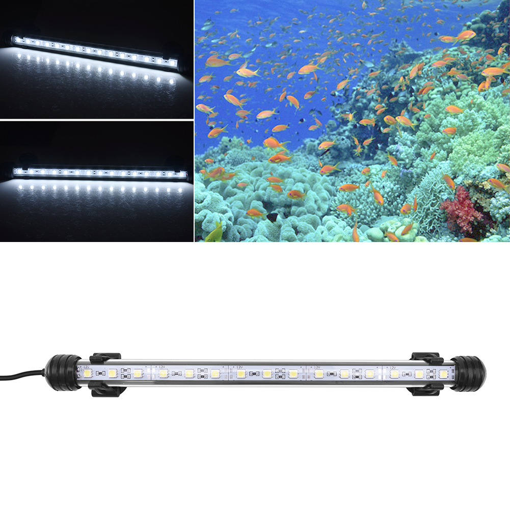 led tube aquariumlicht r hre aquarium brunnen fish tank beleuchtung blau wei de ebay. Black Bedroom Furniture Sets. Home Design Ideas