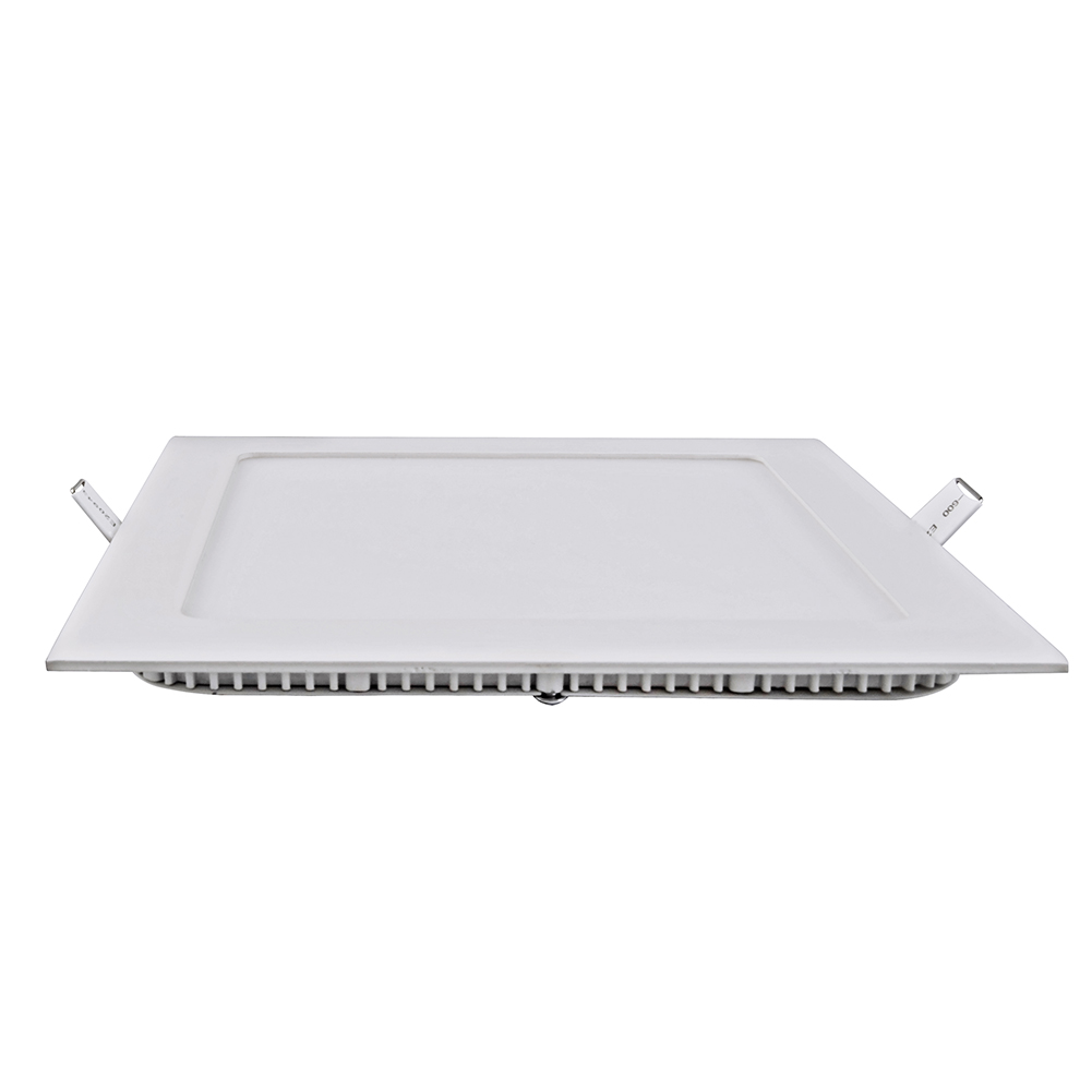 6x led panel 15w einbau aufputzleuchte strahler licht for Led deckenlampe eckig