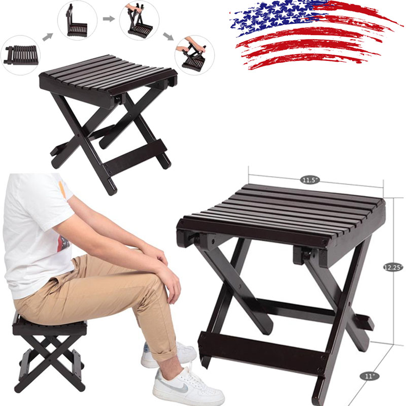 Pleasant Details About Children Wooden Bamboo Stool Collapsible Multi Function Kids Bench Chairs Brown Machost Co Dining Chair Design Ideas Machostcouk