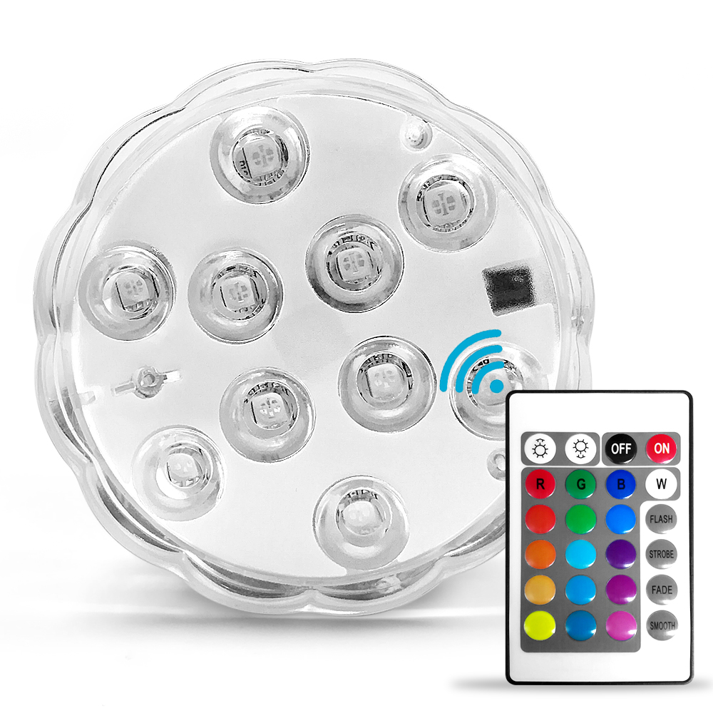 Waterproof Swimming Pool Light Rgb Led Bulb Remote Control