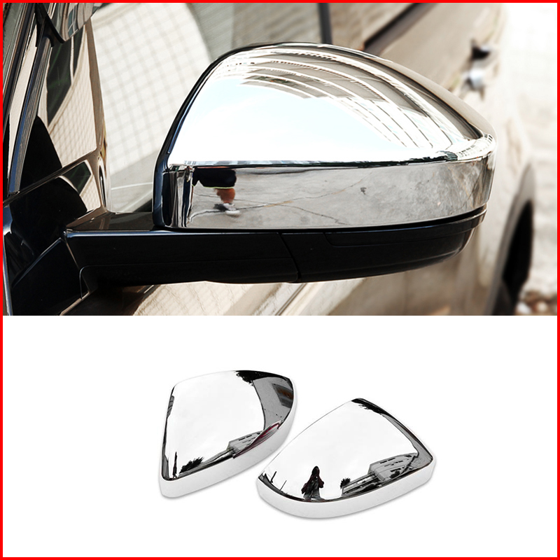 FOR 2017 2018 HYUNDAI ELANTRA ABS Chrome Side Mirrors Rearview Trim Cover 2pcs