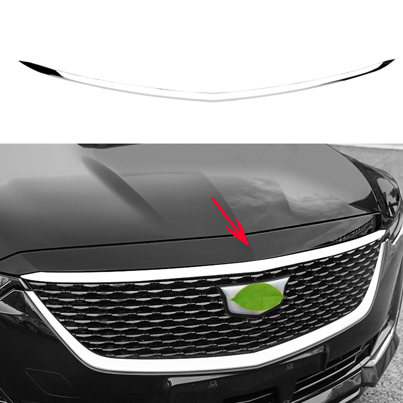 FOR Cadillac CT5 2019-2020 Steel Chrome Engine Hood Front