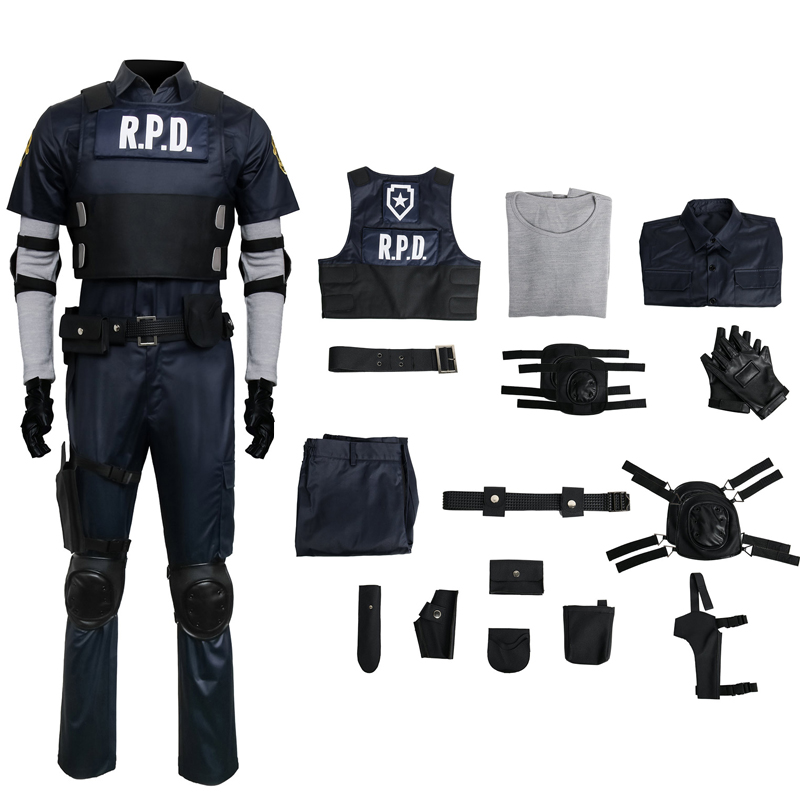 Resident Evil 2 Remake Biohazard Re 2 Leon Scott Kennedy Cosplay