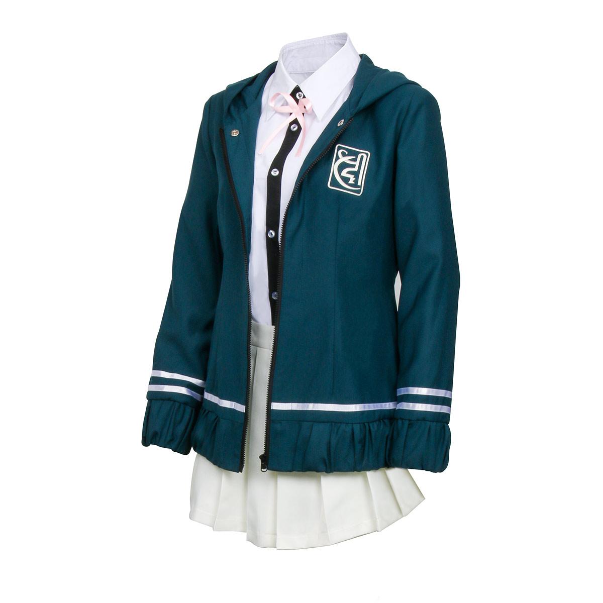 Danganronpa Break Chiaki Nanami Dress School Girl Cosplay Uniform Costume Set