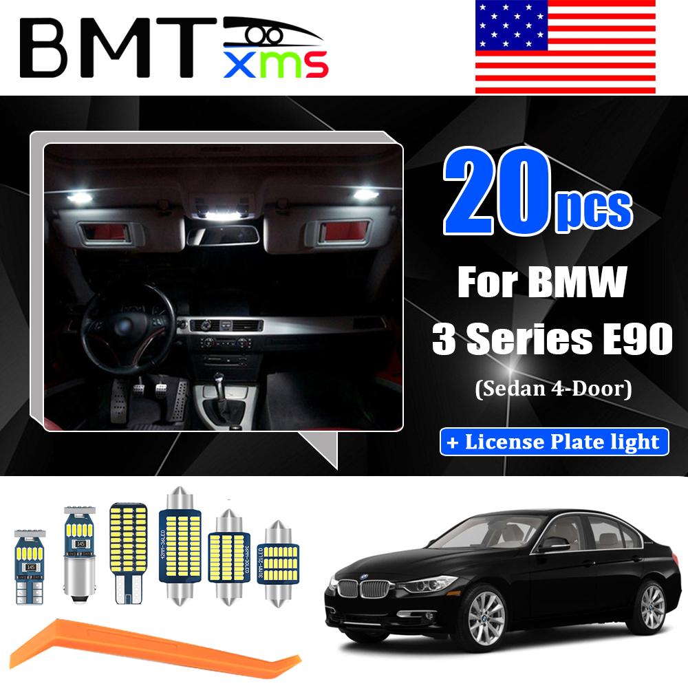 16 LED Interior Lighting Bulbs Kit for BMW 3 Series E46 M3 Sedan //Coupe //Touring