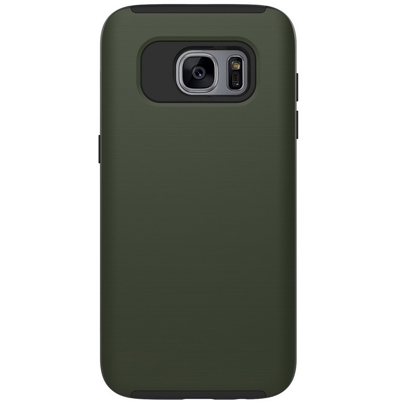 Slim Brushed Texture Hybrid Case Cover For Samsung Galaxy S7 Edge&J5/J7 Prime