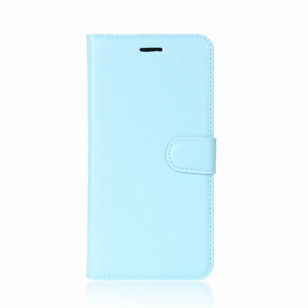 New Luxury Shockproof Magntic Flip Wallet Card Slot Leather Case For Oppo A71 Blue
