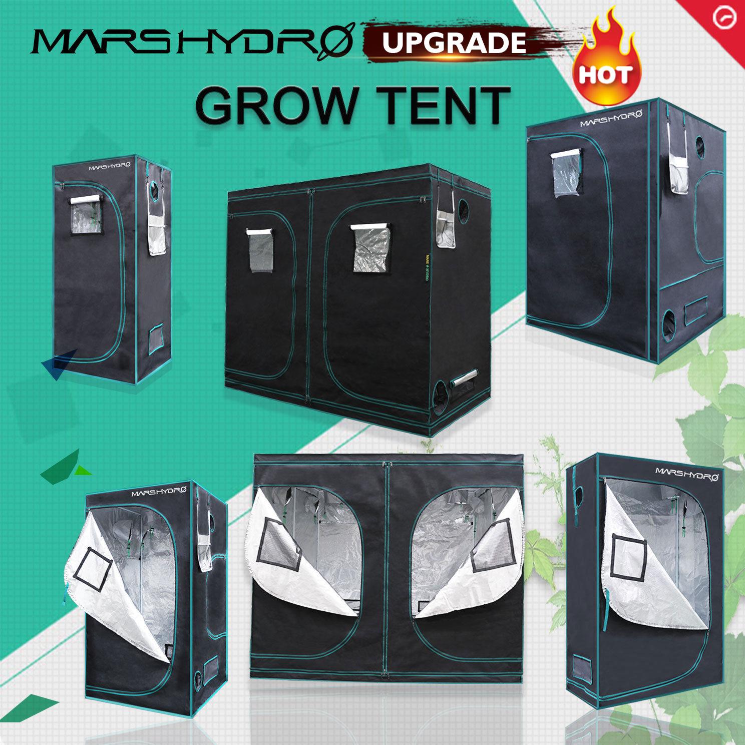 Mars Hydroponics Grow Lights Tent Kit Indoor Plant Grow