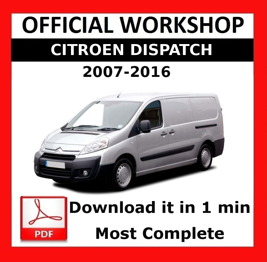 Official workshop manual service repair citroen dispatch 2007 2016 image is loading gt gt official workshop manual service repair citroen asfbconference2016 Choice Image