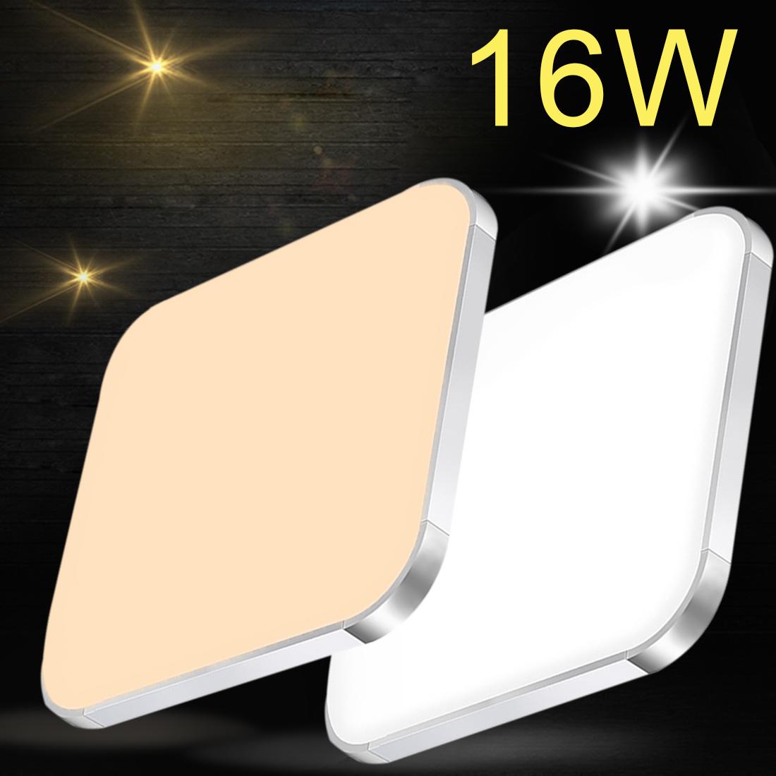16w led deckenlampe deckenleuchte kaltwei wohnzimmer k che b ros wandlampe ip44 ebay. Black Bedroom Furniture Sets. Home Design Ideas