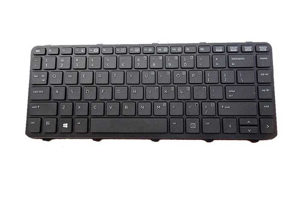 For HP ProBook 640 G2 645 G2 Keyboard Czech Slovakian US CZ SK Pointer Backlit