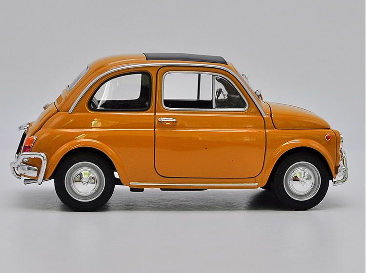 Fiat 500 Classic White Ur Model From 1957 1//24 Welly Model Car with or Without