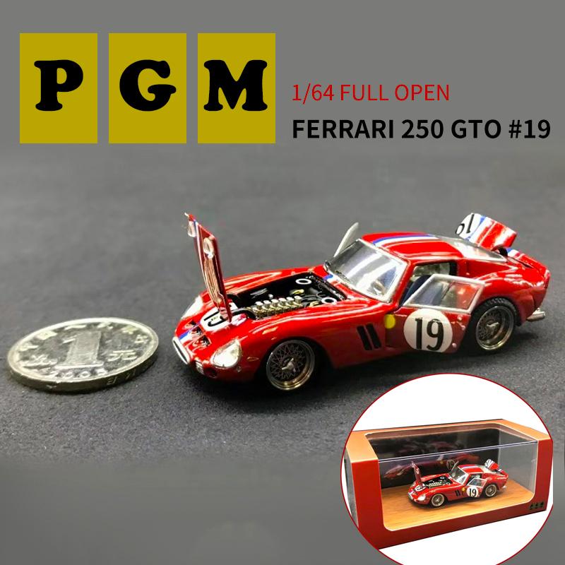 1//64 PGM Ferrari 250GTO #19 Regular Version Diecast Models Limited Collection