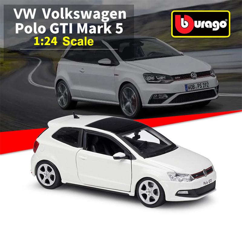 BBURAGO Die Cast Model Vw Polo Gti Mark 5-40-21059