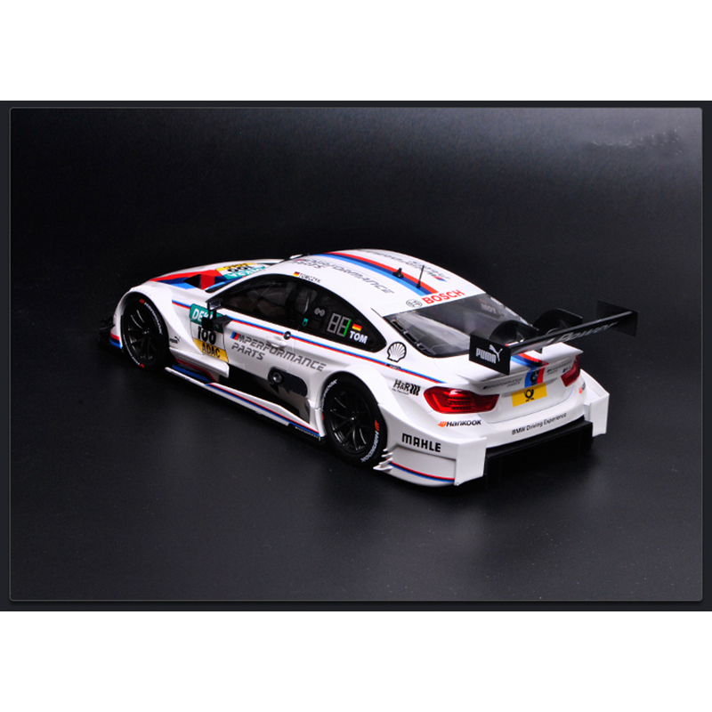 NOREV 1:18 Scale 2016 BMW M4 DTM Martin Tomczyk Diecast Car Model Collection NEW