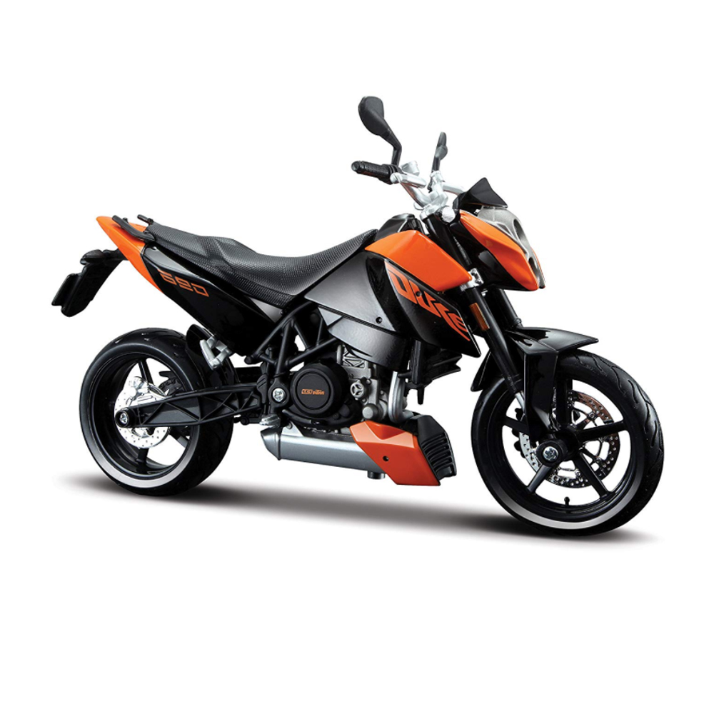 MAISTO 31181 KTM 690 DUKE SUPERMOTARD SUPERMOTO 1//12 ORANGE