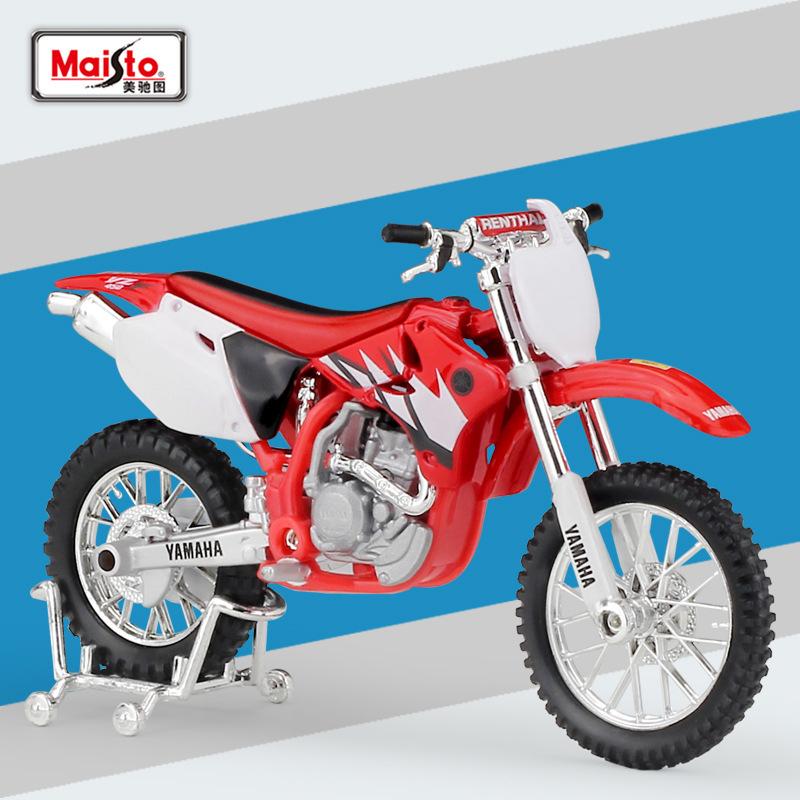Nouveau miniature maisto échelle 1:18 bleu Yamaha YZF-R6 Moto Diecast Model toys