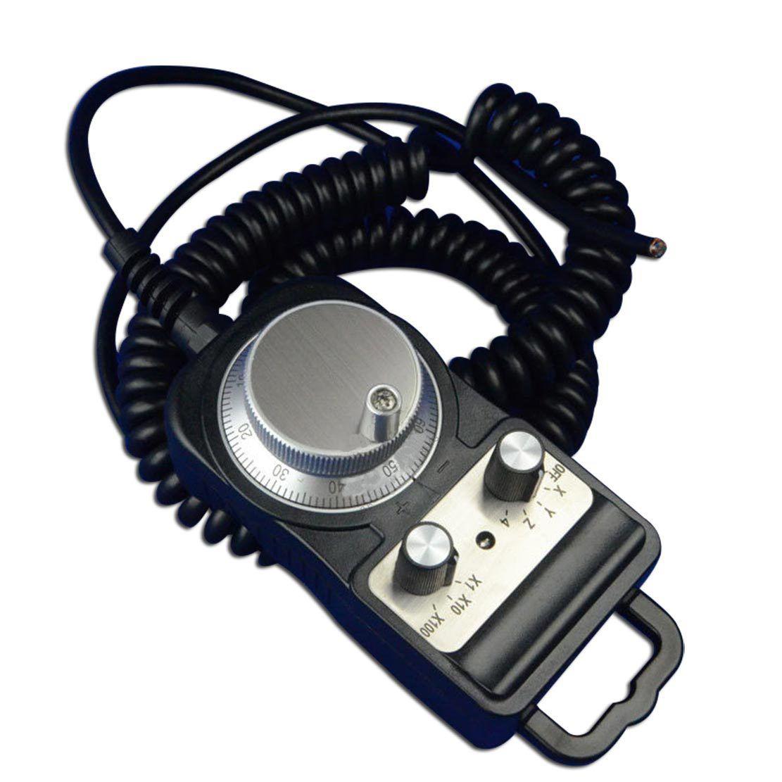 5V 100PPR Electronic Hand Wheel Encoder Router Manual Pulse Generator