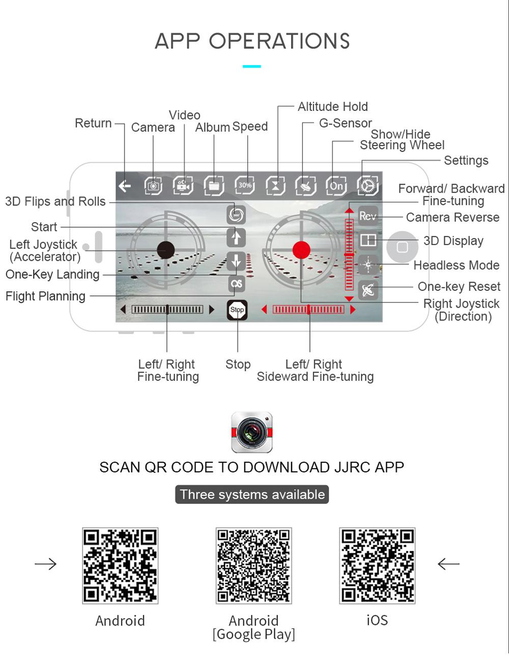 Jjrc h49 wifi fpv selfie drone 720p hd camera auto foldable rc english manual fandeluxe Choice Image
