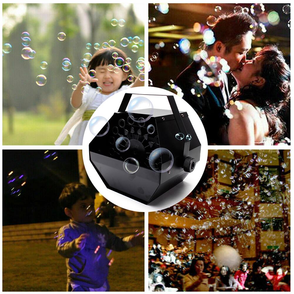 Dreamy Atmosphere Creator Seifenblasen-Maschine with Fernbedienung Wedding Party
