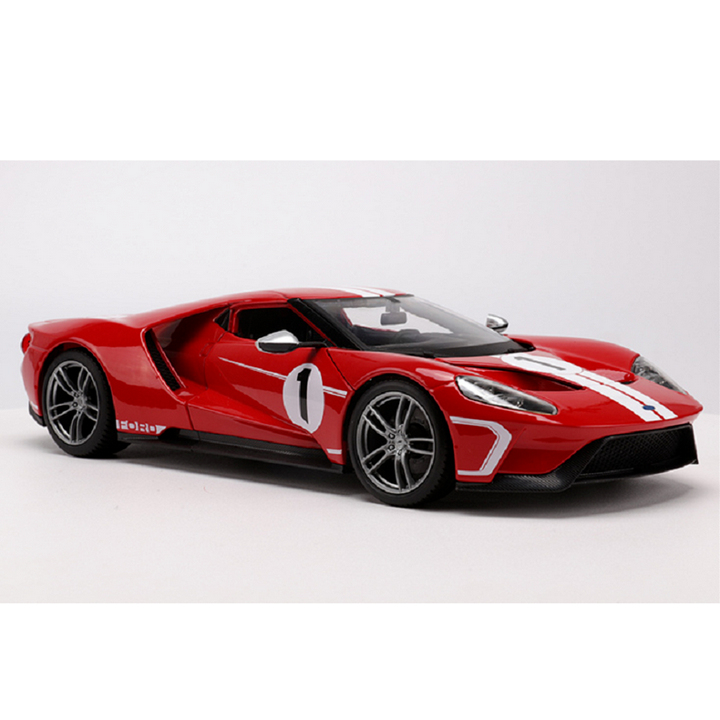 Ford Sports Car Models: Maisto 1:18 2017 Ford GT Concept Diecast Model Sports