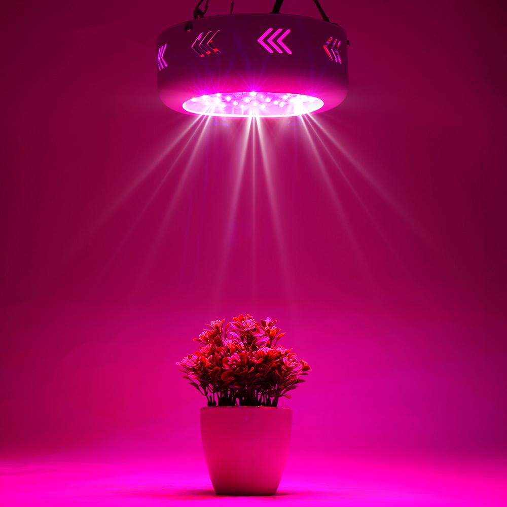150w ufo led grow lampe licht ir uv pflanzenleuchte wachstum f r zimmerpflanzen ebay. Black Bedroom Furniture Sets. Home Design Ideas