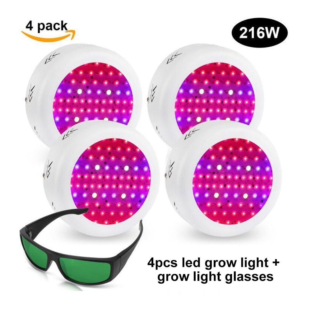 216W UFO LED Grow Lampe Pflanzen Licht Hydro für Pflanzen Seeding ...