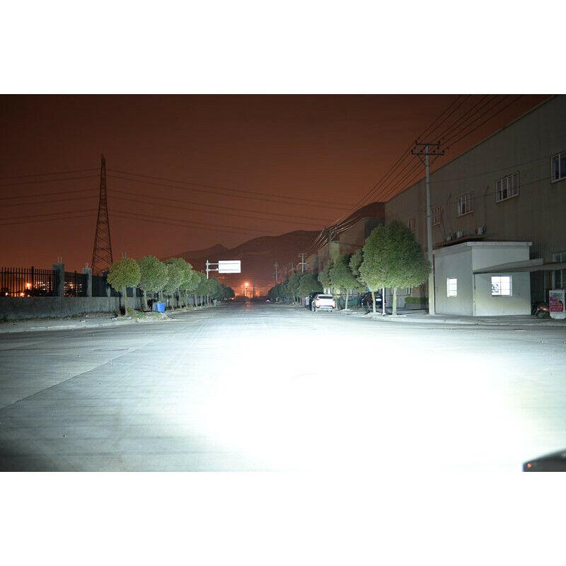 2pcs White 6000k 72w Led Headlight Kit Light Bulbs Fit