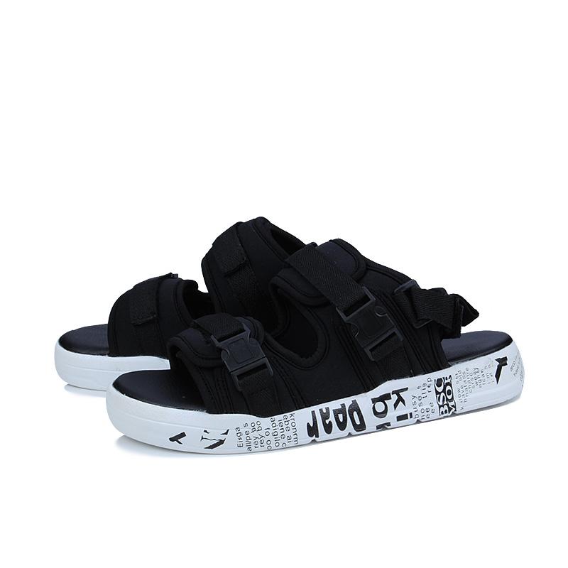 486f594593b931 Summer Cool Men Flip Flops Roma Style Boardered Beach Sandals Non-slide Male  USA