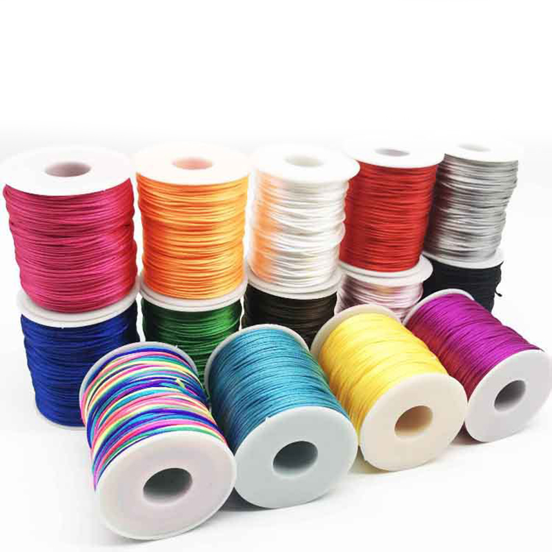 1.5mm Diameter Polyester Thread String Cord Sewing Craft Stitching DIY Tool TP