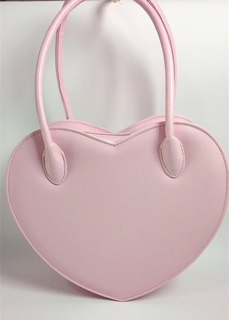 Fashion Women Cute Heart Shape Handbag Purse Lovely Girl Lolita Bag Tote 5 Color