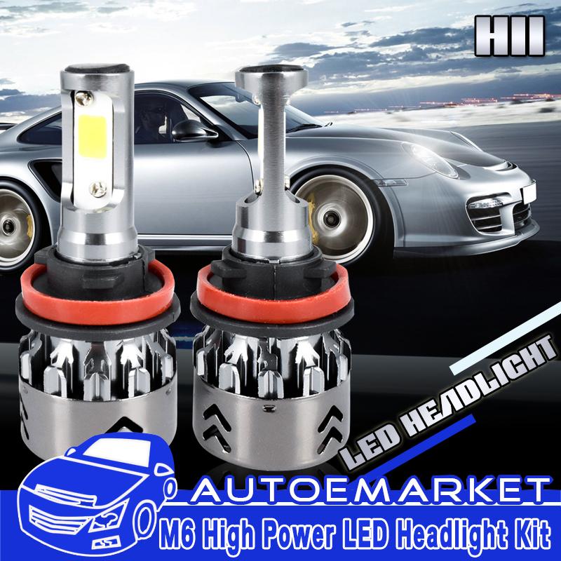 For 2007-2017 Nissan Altima LED Headlight Bulbs High//Low Beam /& Fog Light H9 H11