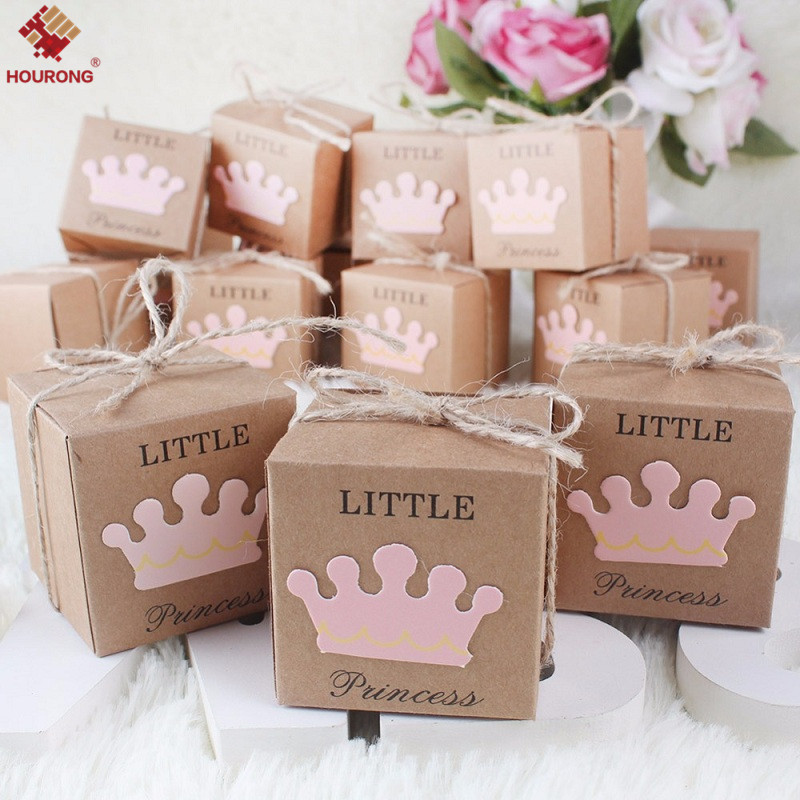 10Pcs Kraft Paper Love Heart Favor Gift Box Candy Boxes Wedding ...